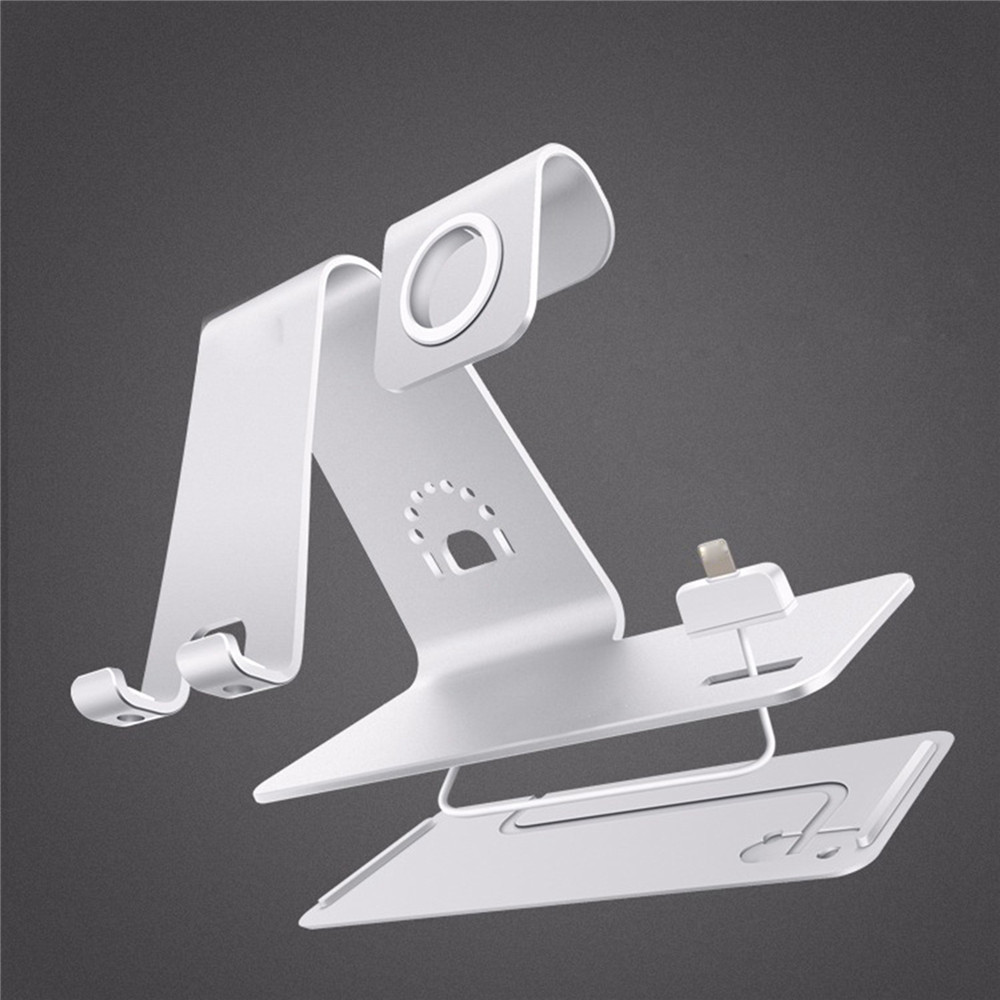 3 in 1 Qi Wireless Charging base Dock Stand holder brachet replacement For iphone X 8/8 Plus/Airpods&Wireless Charging Device