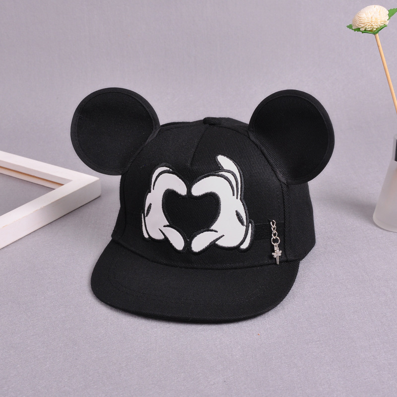 e1f56cbad Details about 2018 Hot Mickey ear hat children snapback Caps baseball Funny  spring summer