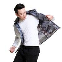 Куртка спортивная куртка для верховой езды Рыбалка восхождение бег Повседневная куртка двухсторонняя переносная водостойкая куртка для м...
