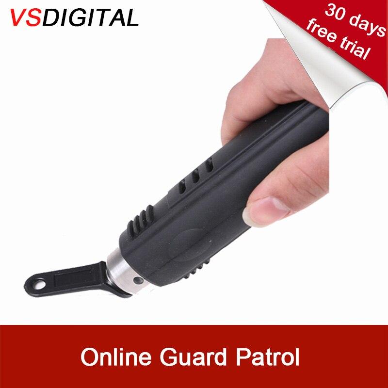 Freies Verschiffen Ibutton Handheld Sicherheit Patrol Gerät Mit Web Downloader, Die Können Transfer Daten Fern Ohne Verbinden Pc Hohe QualitäT Und Preiswert