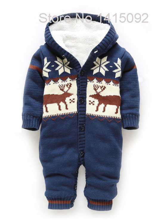 Baby Clothing Baby Cartoon Warm Hooded Coverall Infant Toddler Romper Winter Children Kids Jumpsuits One-piece Suit puseky 2017 infant romper baby boys girls jumpsuit newborn bebe clothing hooded toddler baby clothes cute panda romper costumes