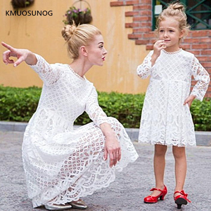 adsfay.com New-Mother-Daughter-Dresses-Wedding-Spring-Mommy-and-Me-Clothes-Mom-and-Daughter-Lace-Princess-Dress.jpg