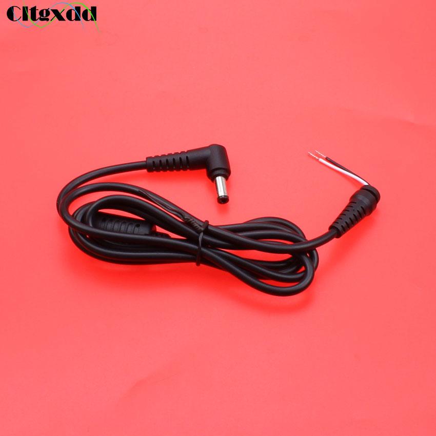 Cltgxdd-connecteur d'alimentation cc mâle 5.5x2.5mm, 10 pièces, avec cordon d'alimentation, pour adaptateur d'ordinateur portable Toshiba, Asus Lenovo, x mm