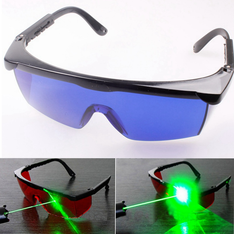NEW All-round Absorption Blue Laser Protection Safely Security goggles Glasses For 650nm Red Light Laser Pointer high quality all round absorption blue laser protection safely security goggles glasses for 650nm red light laser pointer