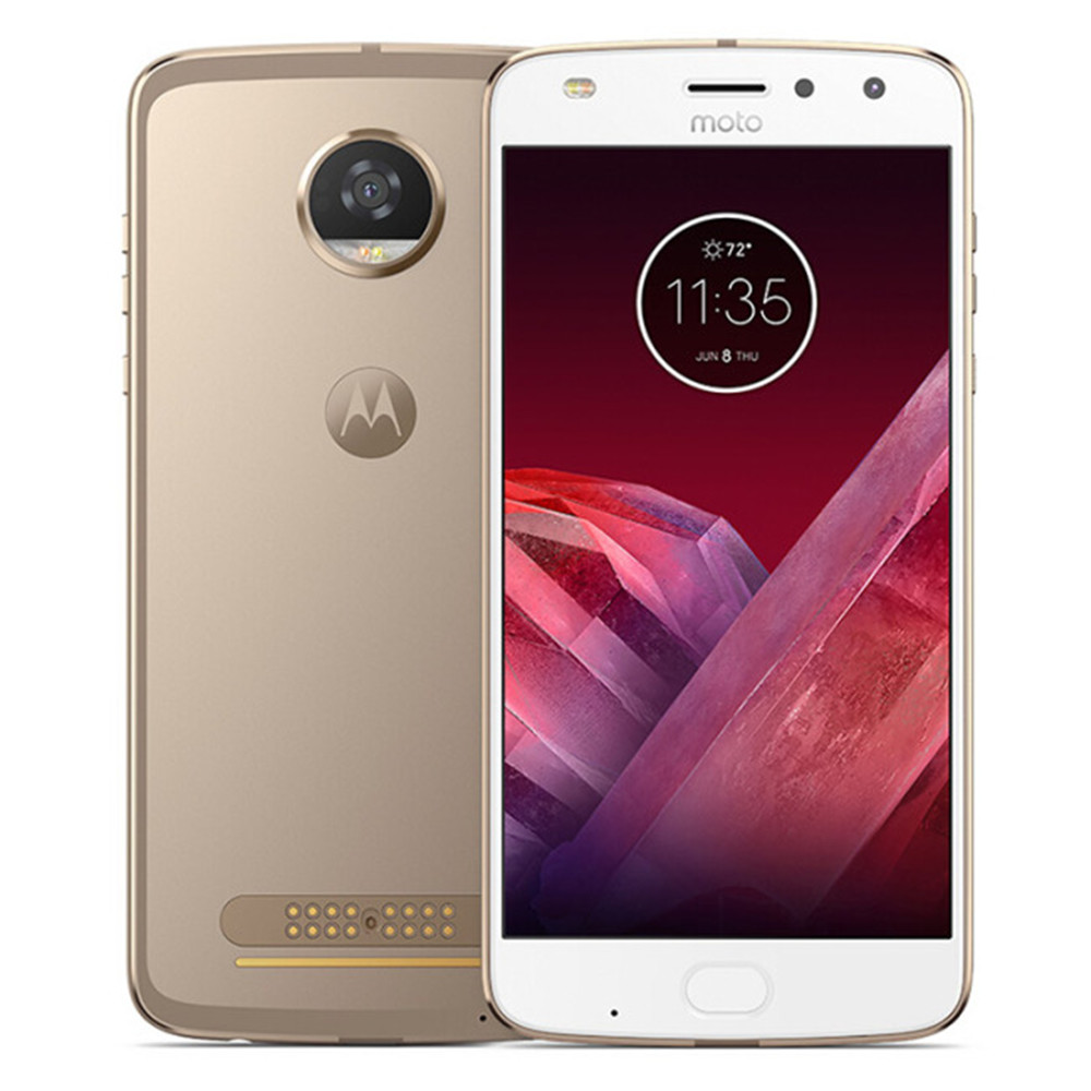 Motorola MOTO Z2 PLAY Smartphone Super AMOLED FHD Screen 4GB RAM 64GB ROM Snapdragon 626 NFC Water Repellent Nano coating