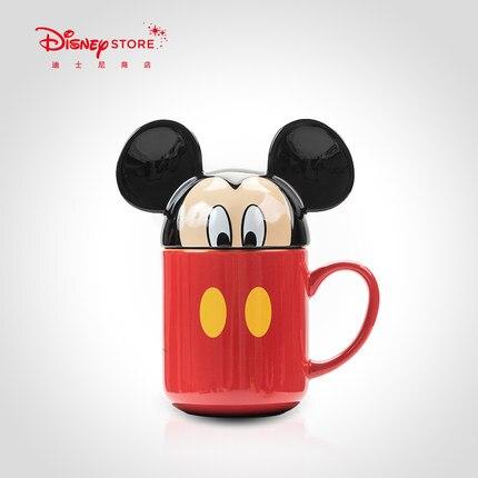 Véritable Disney 3D dessin animé image tasse en céramique de haute qualité tasse à café Collection enfant cadeau haut de gamme personnalisé tasse en céramique
