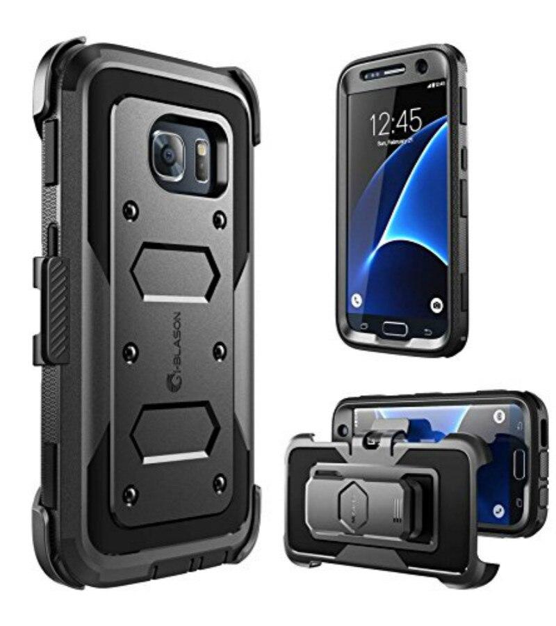 S7 S7edge S8 S9 plus Armadura Heavy Duty Proteção de Corpo Inteiro de Redução de Choque Bumper Caixa do telefone para Samsung Galaxy S6 borda da tampa