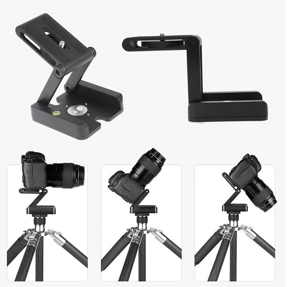 Professional Camera Flex Tripod Z Shaped Folding Quick Release Plate Desk Stand Holder In Heads From Consumer Electronics On Aliexpress