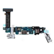 Vervanging Flex Kabel Hoofdtelefoonaansluiting Microfoon Usb poort Opladen Socket Dock Connector Voor Samsung Galaxy S6 G920F