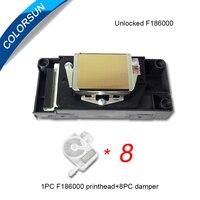Colorsun Original unlock DX5 F186000 F186010 printhead for Mimaki JV33 RJ900 VJ1604 DX5 print head for Epson 4880 R2000 DX5 head