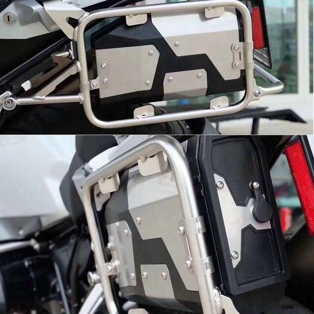 $ US $54.18 All New For BMW R1200GS R1250GS/ADV R 1200 GS LC 2004-2019 Decorative Aluminum Box Toolbox 4.2 Liters Tool Box Left Side Bracket