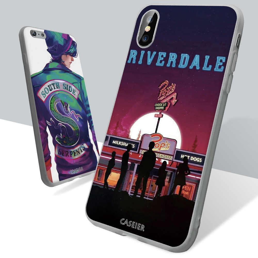 CASEIER Phone Case For Huawei P20 P10 Lite P Smart Plus Riverdale Case For Huawei Mate 10 20 lite Pro Honor 8X 7A 7C 10 9 Lite