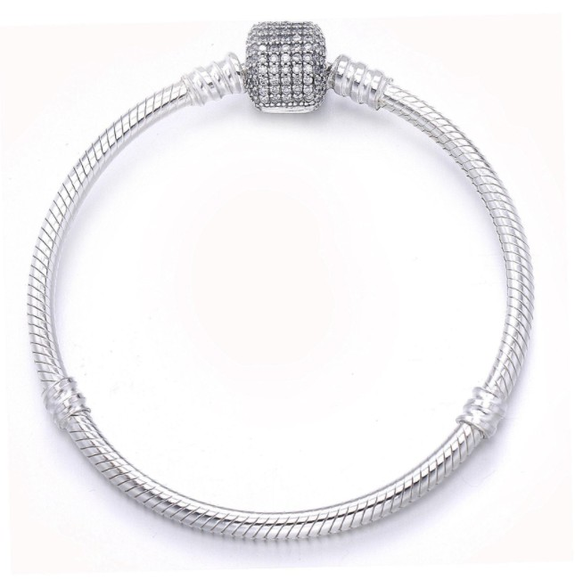 2019 New Fashion jewelry Original authentic 925 sterling silver Necklace Crystals from Swarovski Women Wedding Jewelry