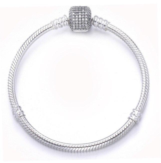 2019 Nouvelle Mode bijoux Original authentique 925 en argent sterling Collier Cristaux de Swarovski Femmes Bijoux De Mariage