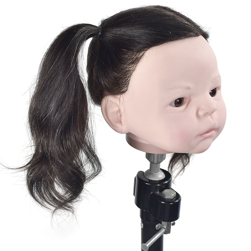 New Style Child Mannequin Head Famous Brand Maniquin High Quality Lovely Mini Mannequin Training Doll Head For Hairdressing