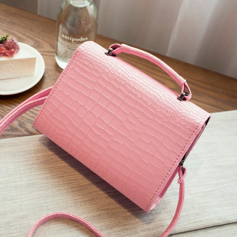 Kvaliteetne Macaron värvi klapi kott naiste messenger kotid värske - Käekotid - Foto 3
