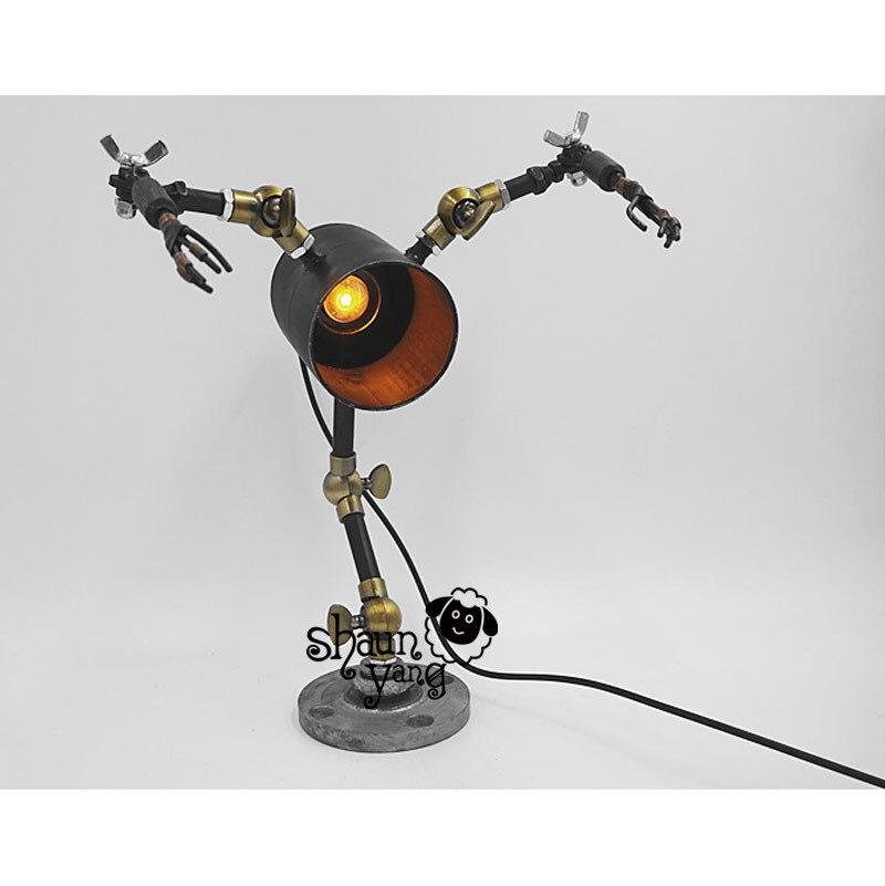시원한! 소설과 창조적 인 성격 복고풍 기계 'frozen'robot bar diy 미국 국가 산업 바 호텔 레스토랑-에서라이트업 장난감부터 완구 & 취미 의  그룹 3
