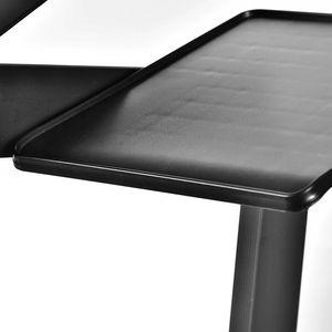 Image 5 - Aluminium Laptop Tafel Verstelbare Draagbare Vouwen Computer Bureau Studenten Slaapzaal Laptop Tafel Stand Tray Voor Slaapbank