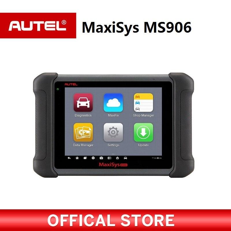 AUTEL MaxiSys MS906 Беспроводной авто инструмент диагностики obd2 сканер автомобильной для ЭБУ ключ кодирования PK MaxiDAS DS808 MS906BT MS908