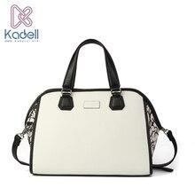 Kadell Luxus-handtaschenfrauen-designer Pu Ledertaschen Damen Berühmte Marken Messenger Bags Weiß Casual Stil splash-in tasche