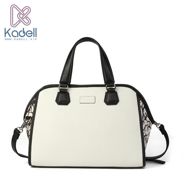 Kadell Роскошные Сумки Для женщин Сумки дизайнер из искусственной кожи Сумки дамы известные бренды Курьерские сумки белый Повседневное Стиль всплеск в мешок