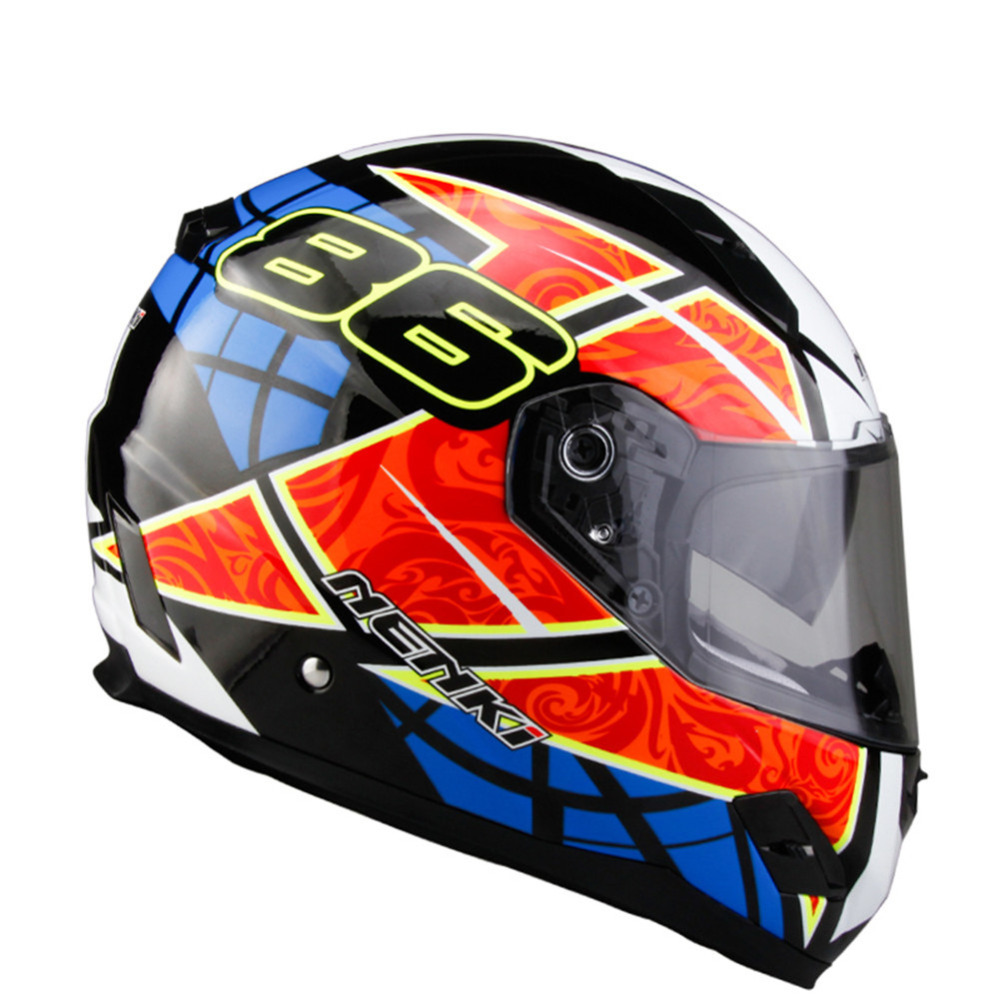 NENKI Fiberglass Motorcycle helmet Full Face Moto 856A Capacetes Motociclismo Cascos Para Moto Casque Motosiklet Kask Helmets 1000m motorcycle helmet intercom bt s2 waterproof for wired wireless helmet