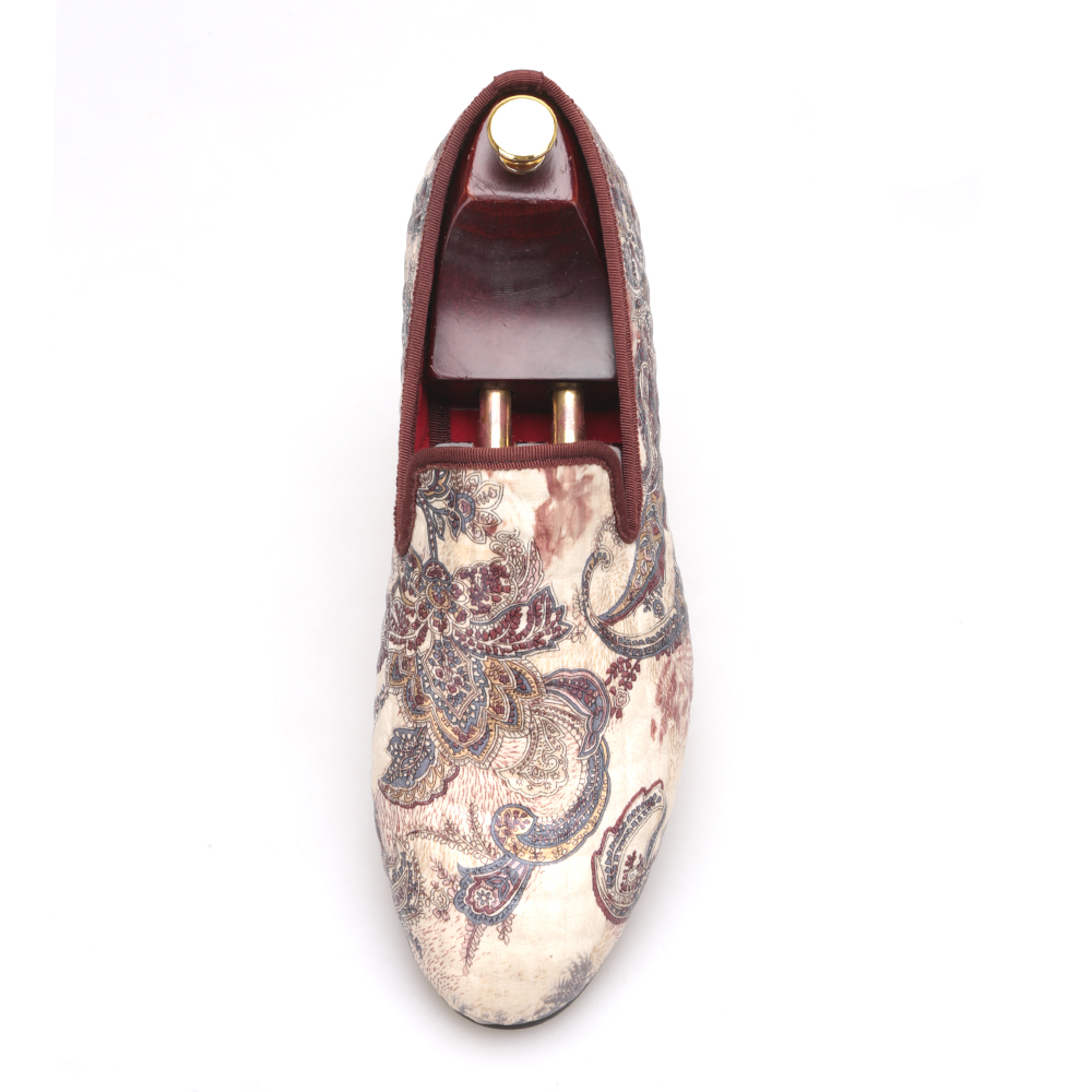 Moda Caqui Zapatos Hombres De Británico Terciopelo Mano Impreso En Superior Antideslizante Casuales Mocasines Impresión 2016 Los Planos Nuevo Con Estilo wHSBqx67