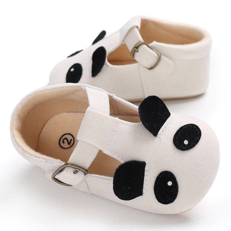 27cea6d0e Cut Baby Girls First Walkers Cotton Cartoon Panda Soft Sole Baby ...