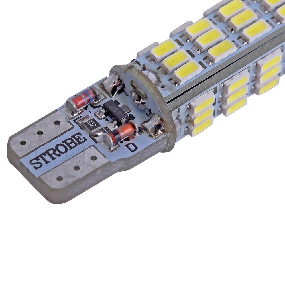 2PCS / LOT T10 жоғары сапалы Strobe flash w5w LED 54smd - Автокөлік шамдары - фото 3
