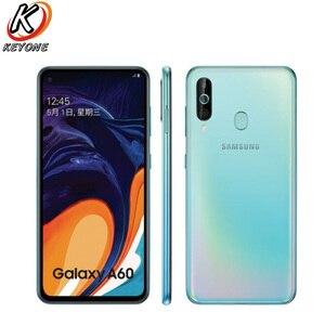 "Image 2 - Brand New Samsung Galaxy A60 LTE Mobile Phone 6.3"" 6G RAM 64/128GB ROM Snapdragon 675 Octa Core 32.0MP+8MP+5MP Rear Camera Phone"