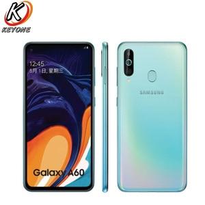 "Image 2 - Nova marca samsung galaxy a60 lte telefone móvel 6.3 ""6g ram 64/128 gb rom snapdragon 675 octa núcleo 32.0mp + 8mp 5mp câmera traseira telefone"