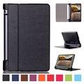 Alta qualidade folio caso capa para o lenovo yoga tab 3 850f 850 M 850L YT3-850F YT3-850M YT3-850F 8 Polegada Tablet Fique Casos de Couro