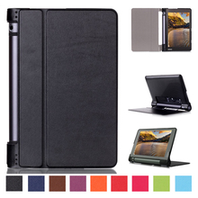 High Quality Folio Cover Case For Lenovo yOGA Tab 3 850F 850M 850L  YT3-850F YT3-850M YT3-850F 8 Inch Tablet Leather Stand Cases