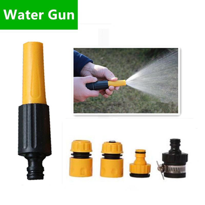 Garden Sprinklers Brave Plastic Garden Water Gun With Connector Watering Nozzle For Garden Irrigation Variable Flow Controls Garden Watering W106 Careful Calculation And Strict Budgeting