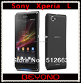 Sony Xperia L Abierto Original 3G GSM Teléfono Móvil Android Sony S36h C2105 WIFI GPS 4.3 ''8MP 8 GB dropshipping