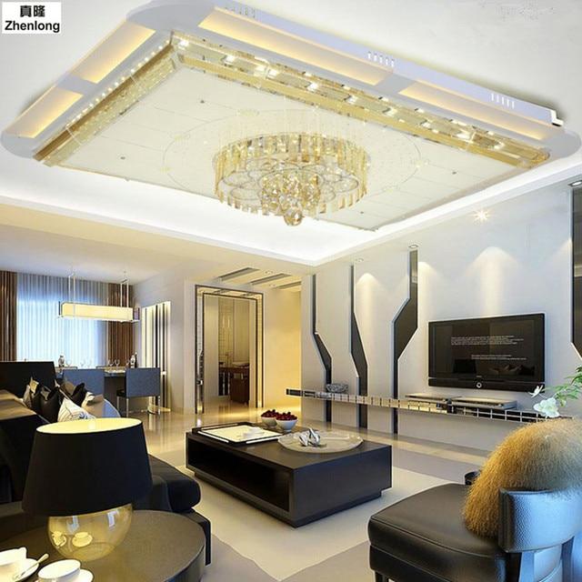 living room led lighting simple ceiling design for rectangular alec light modern fixture home decoration lights hanging lamps 5730 smd