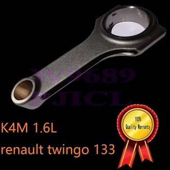 Pindustry sportowe wyścigi renault twingo RS 133 najlepsze produkty biegów silnik K4M zrównoważony kuźnia wał korbowy tłok korbowód tanie i dobre opinie 4 CYLINDRY 2007 MSMOST engine enhancement 4340 Mechanizm korbowy 1 6L racing race parts billet forged billet connecting rod