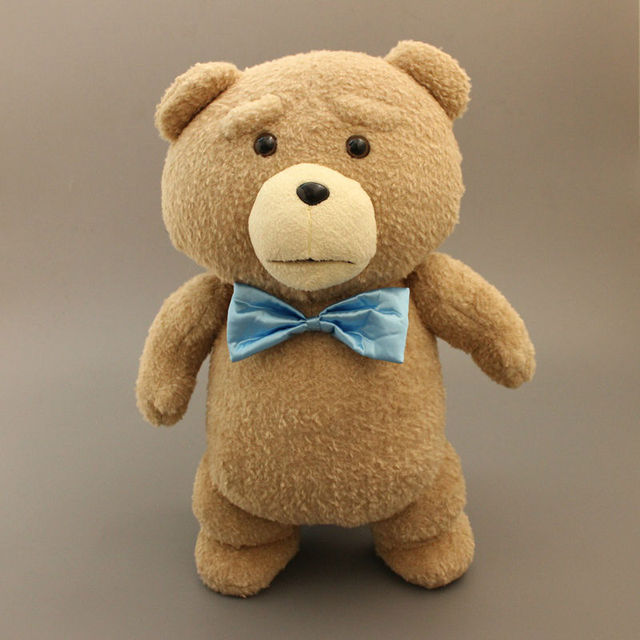 Toys For Ted : Big size cm teddy bear ted plush toys with blue tie