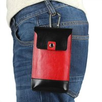 Outdoor Man Belt Clip Leather Case Cell Phone Pouch Climbing Cover For Sony Xperia M4 Aqua