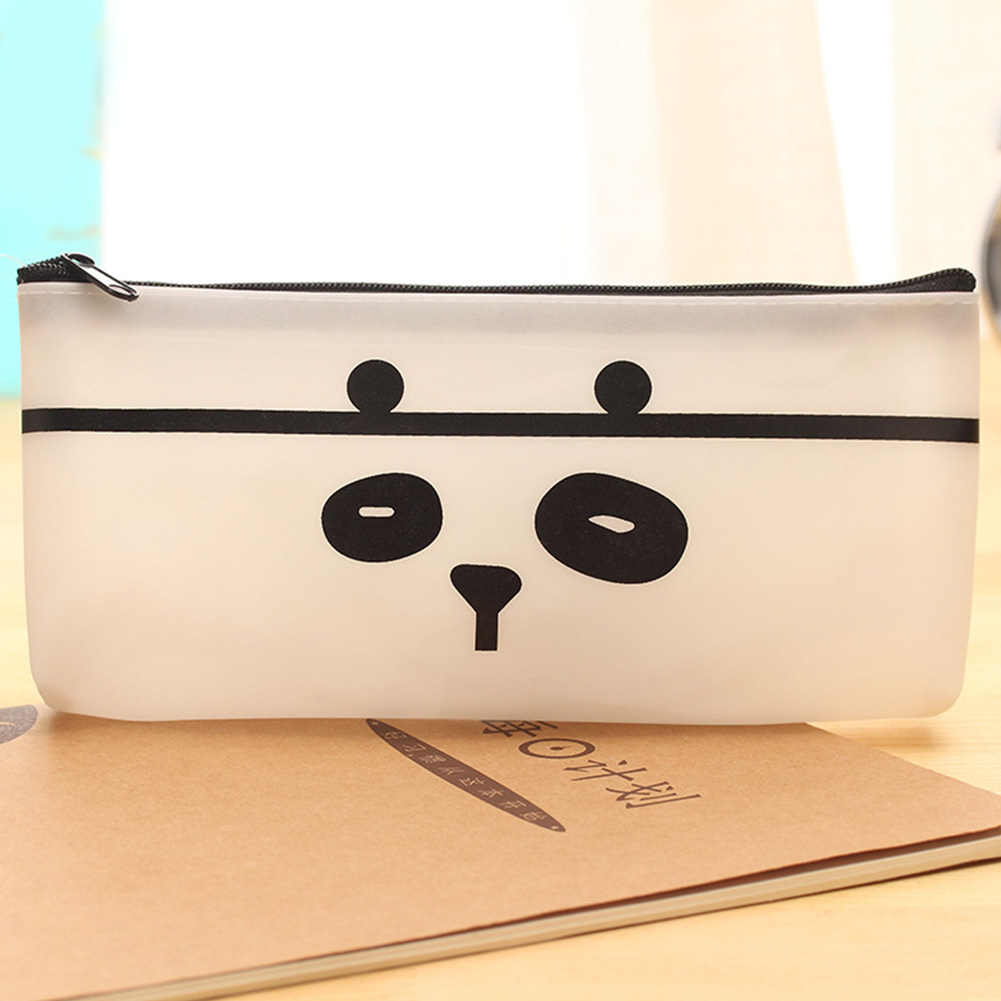 Women bags New Cartoon Cat Color PU Leather Pouch Purse Wallet Glasses Cosmetic Coin Bag pencil Case