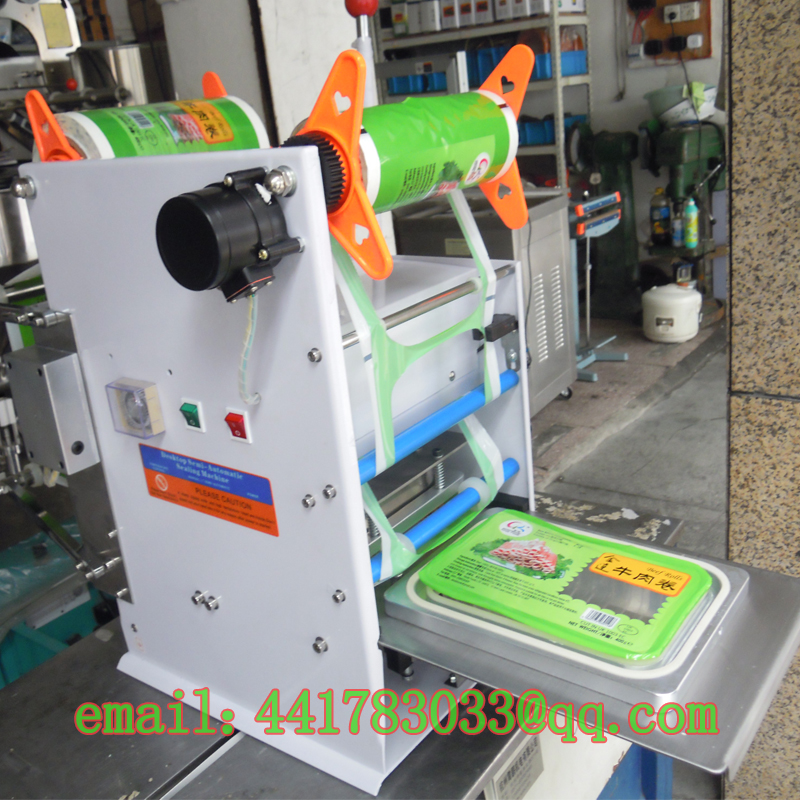 FGJ-D150 Semi-automatic print date and batch number capping machine automatic cup sealer film sealig machine sealer trays cup цены