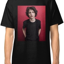 9e60bdb4 Finn Wolfhard Black Tees T-Shirt Clothing Cotton Men T Shirt shubuzhi Super  Basic