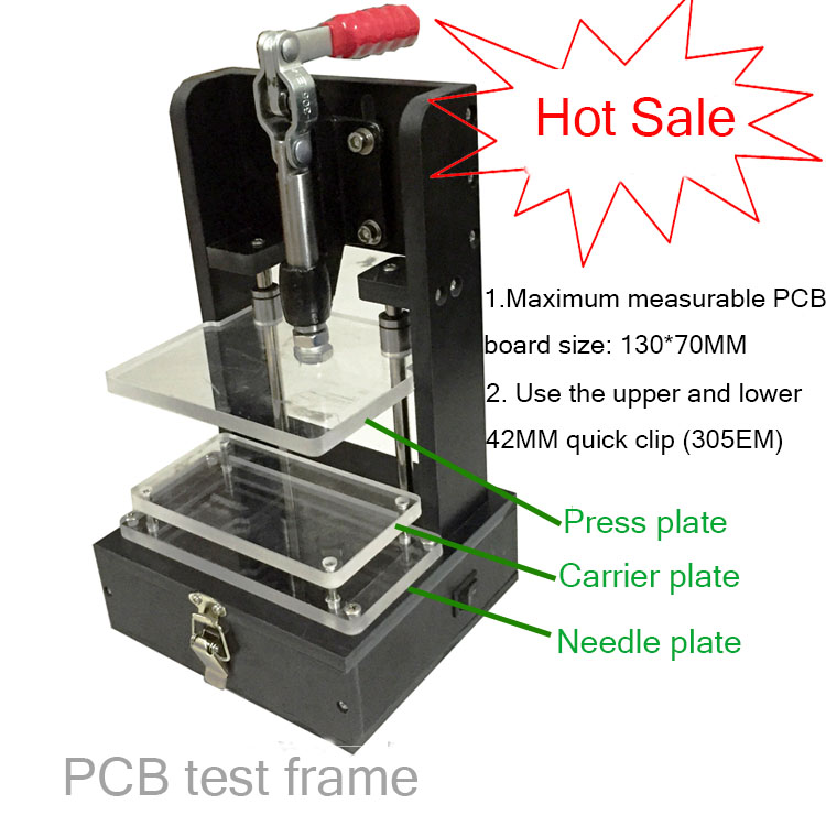 PCBA Test Tooling, PCB Test Rack, Universal Embryo Rack, Universal Test Rack, Empty Rack, Jig.