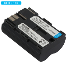 BP-511 Battery BP-511A BP511 BP511A for Canon G6 G5 G3 G2 G1 EOS 300D 50D 40D 30D 20D 5D MV300i Digital Camera 7.4V Li-ion+Track недорого