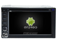 Android 5.1 CAR Audio DVD player gps  FOR Universal Double Din Multimedia navigation head device unit  receiver