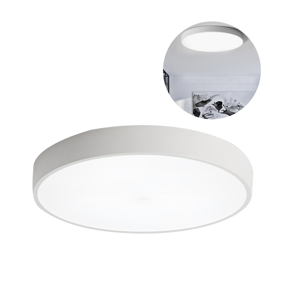 LEDGLE 8W Round Ceiling Lights Ultra-thin LED Ceiling Lamp with Premium Lampshade, Perfect for Indoor Lighting, WhiteLEDGLE 8W Round Ceiling Lights Ultra-thin LED Ceiling Lamp with Premium Lampshade, Perfect for Indoor Lighting, White