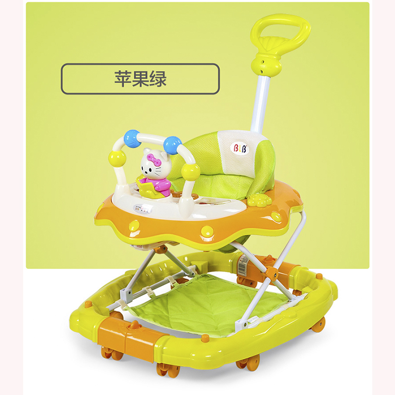 Foldable multi-function baby walker with music cartoon character game car baby car child baby 7-18 months baby walkerFoldable multi-function baby walker with music cartoon character game car baby car child baby 7-18 months baby walker