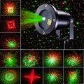 20 padrões laser star projector luzes de chuveiros motion remoto verde vermelho laser ip65 luz do jardim ao ar livre decorativa do natal