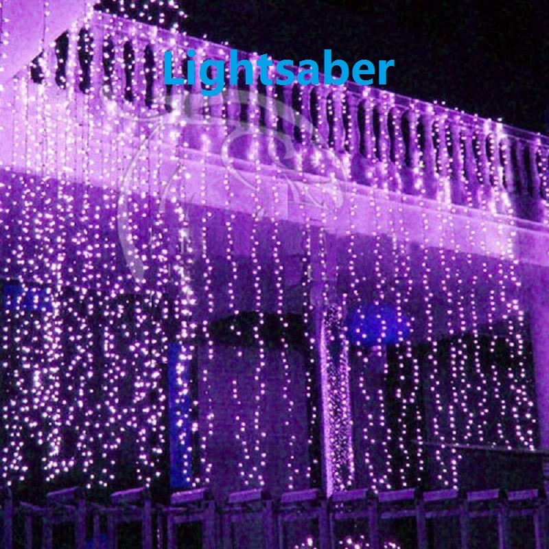 10M x 3M LED Twinkle Lighting 1000LED Christmas String Fairy Wedding Curtain background Outdoor Party Christmas Lights 110V 220V 10m 100 led 110v 8 mode fancy ball lights decorative christmas party festival twinkle string lamp strip rgb us plug