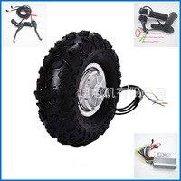 14.5 Electric Wheelbarrow Gear Motor 24v36v 48v 300w 350w 500w All Terrain Electric Wheelbarrow kit Fat Off road Rough Tyre
